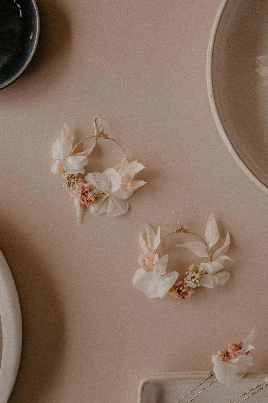 Créoles fleuries Charlotte